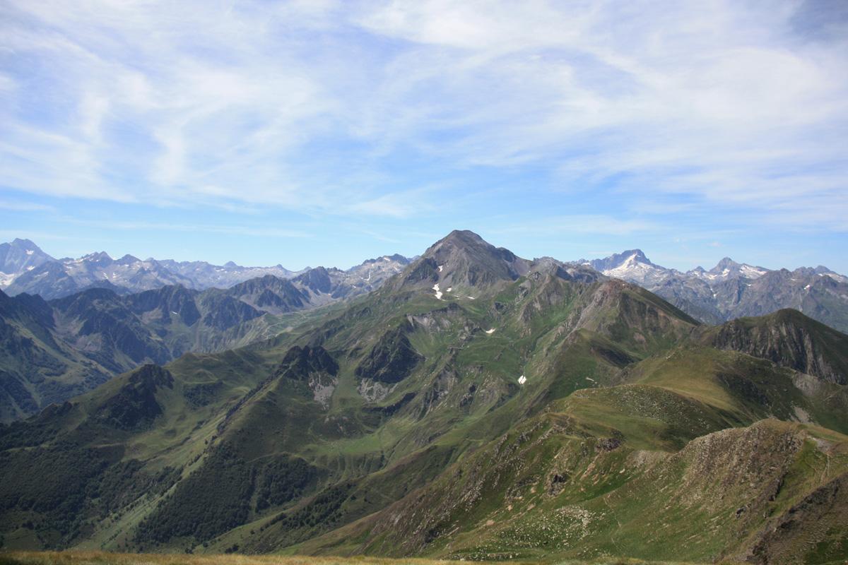 Uitzicht vanaf de top.