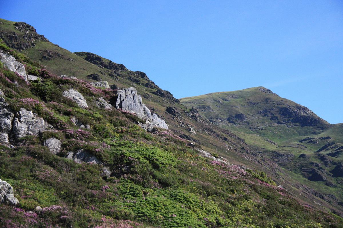 Wandelen bij Cauterets: beklimming van de Pic du Cabaliros, in gezelschap van vale gieren