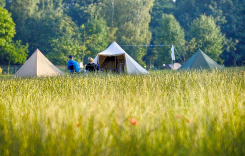 5 kleine natuurcampings in Normandië
