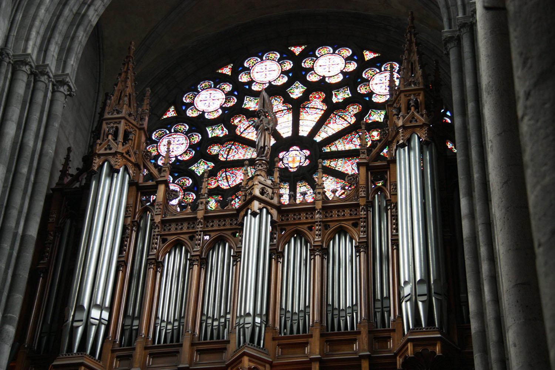Het orgel van de Cathédrale Notre-Dame-de-l'Assomption.