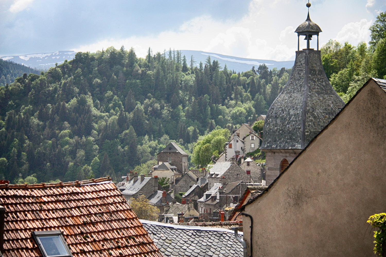 Murat, levendig middeleeuws stadje in de Cantal