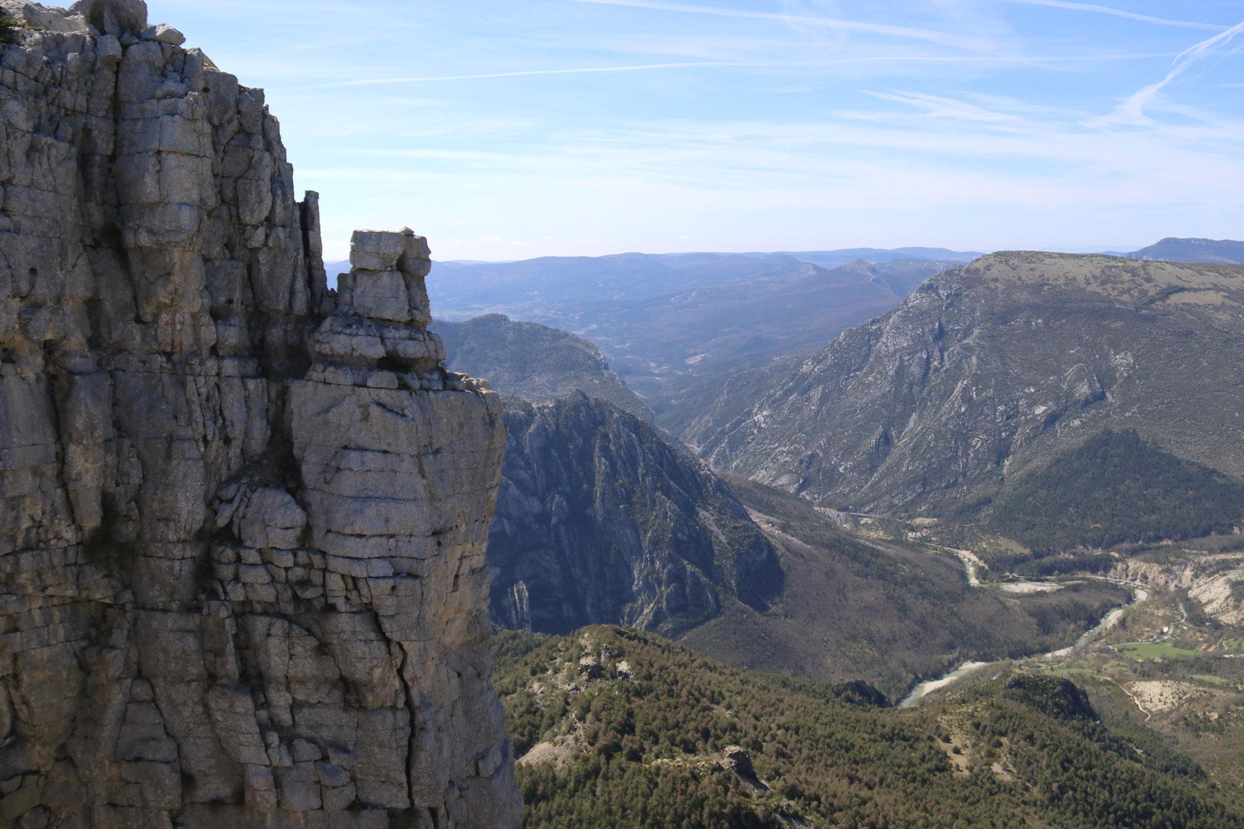 Wandeling in de buurt van Castellane: Cadières de Brandis