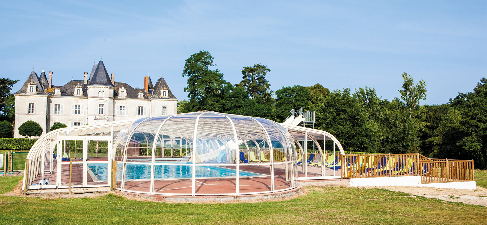 Kasteelcampings in de Loirestreek