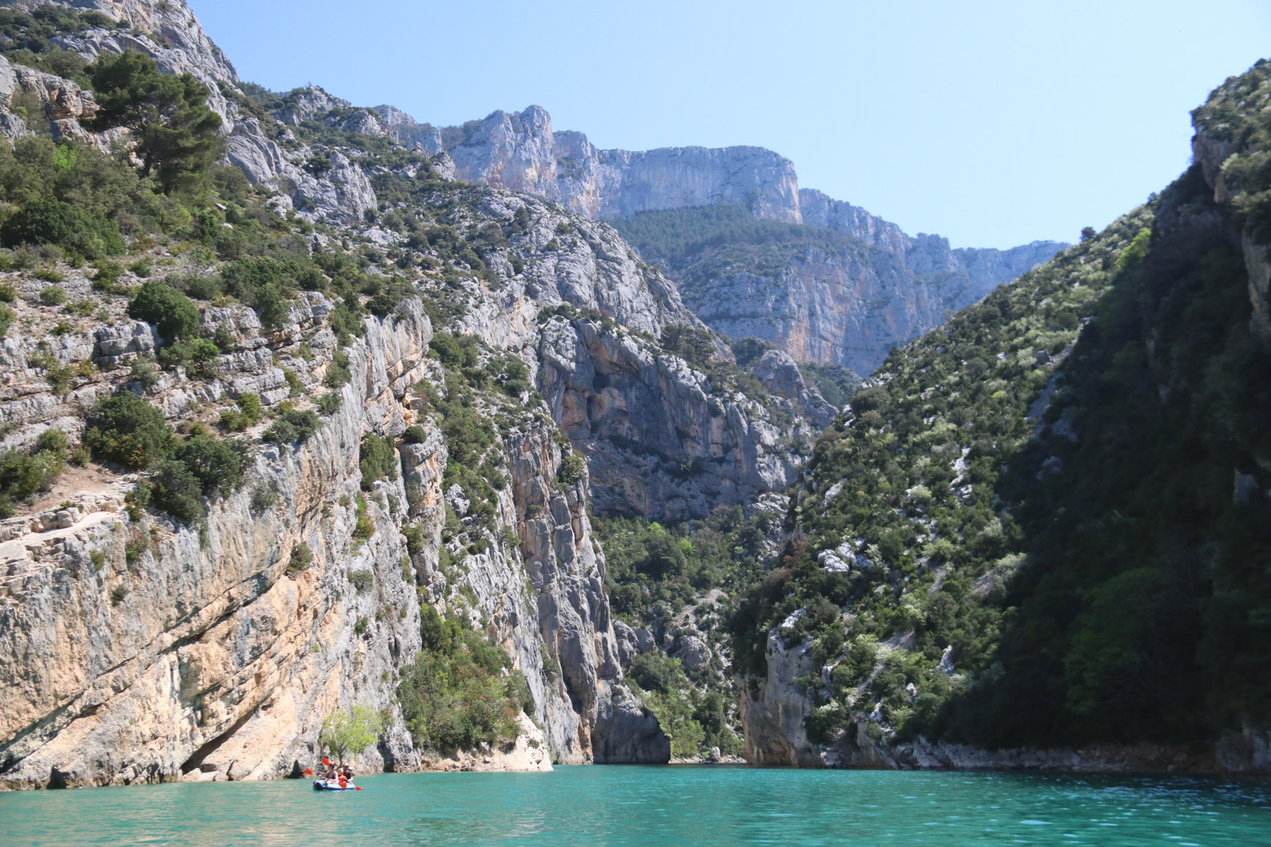 Varen in de Gorges du Verdon