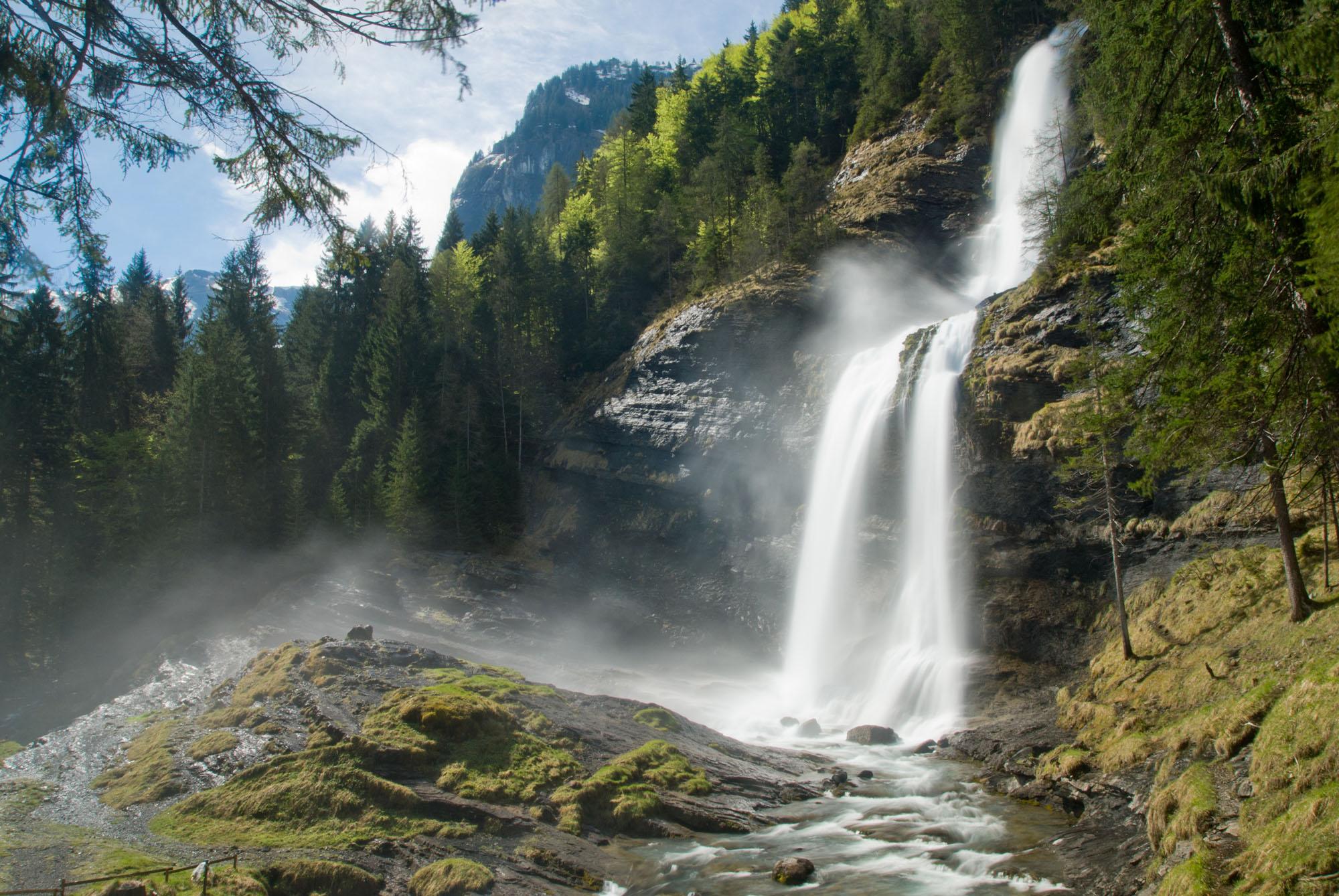 Waterval Cascade d'Ars, Ariège, Midi-Pyrénées