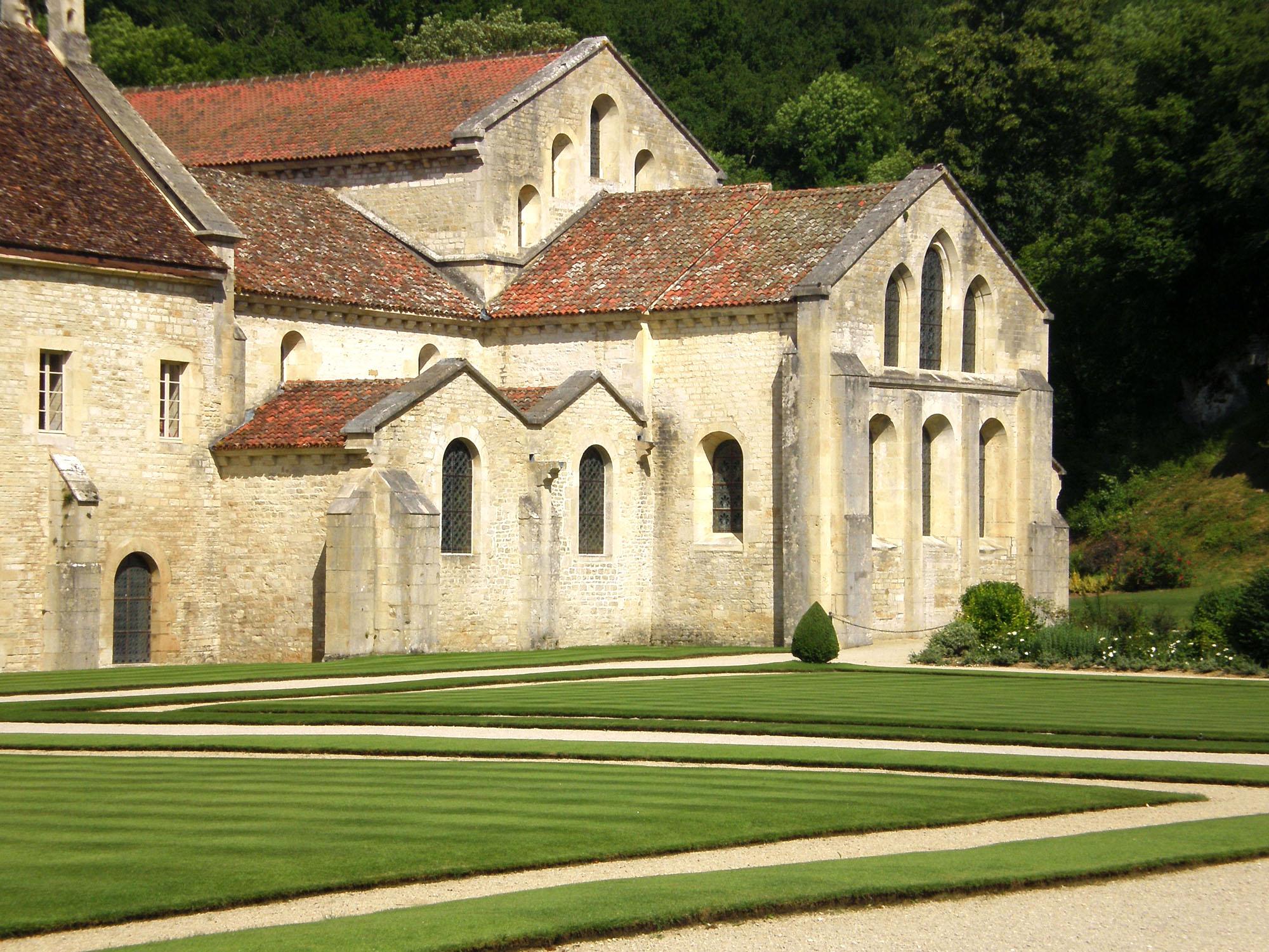 Abdij van Fontenay: rustgevende plek in groene vallei