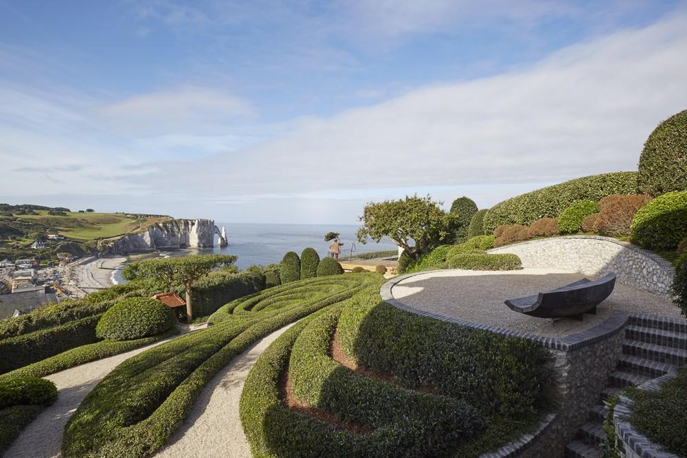 Les Jardins d'Étretat, tuinen met uitzicht op de rotskust