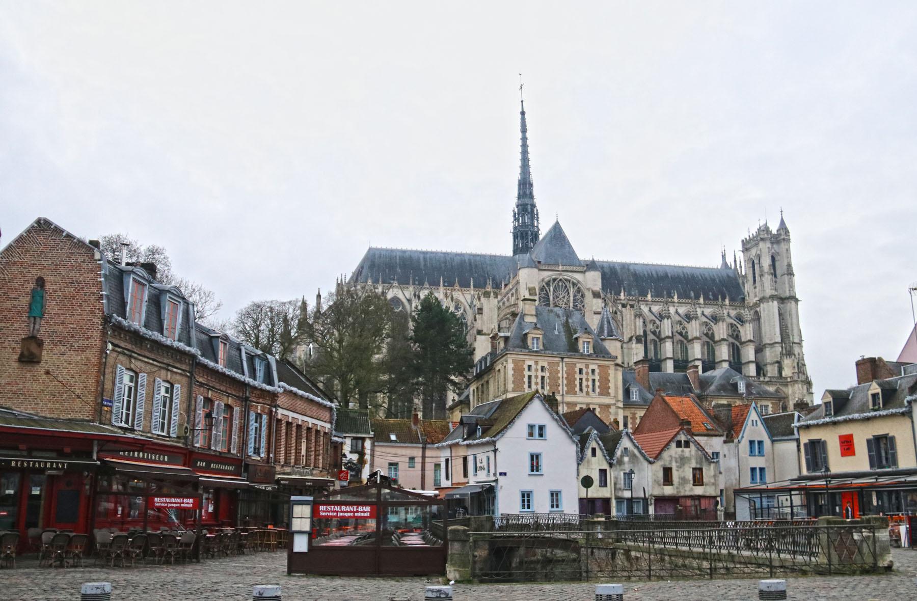Stadswandeling langs historische plekken in Amiens