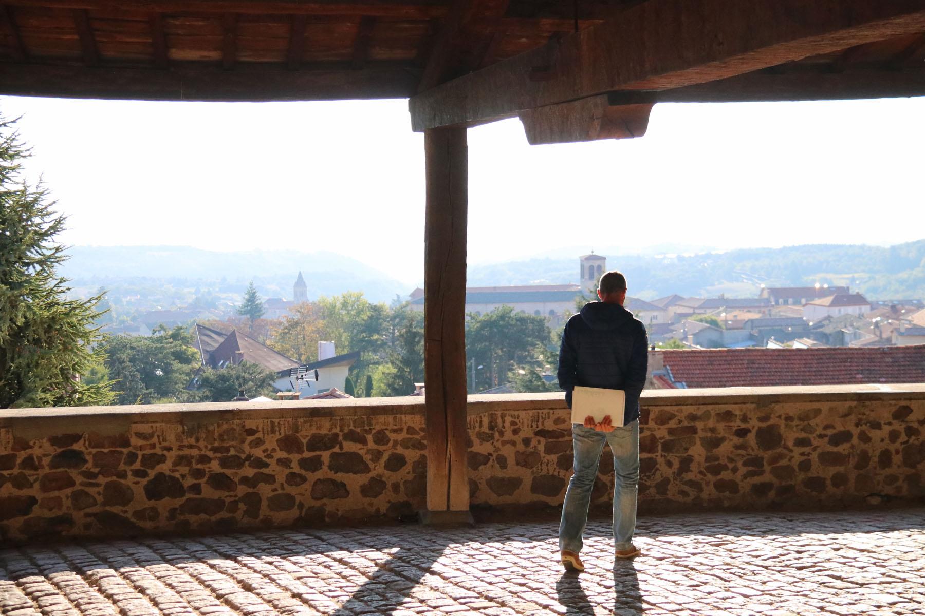 Pélussin, bijzonder plaatsje in natuurpark Pilat