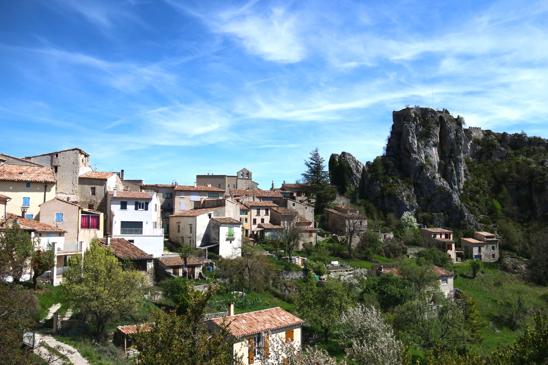 Rougon, dorpje met eersterangs uitzicht op de Gorges du Verdon