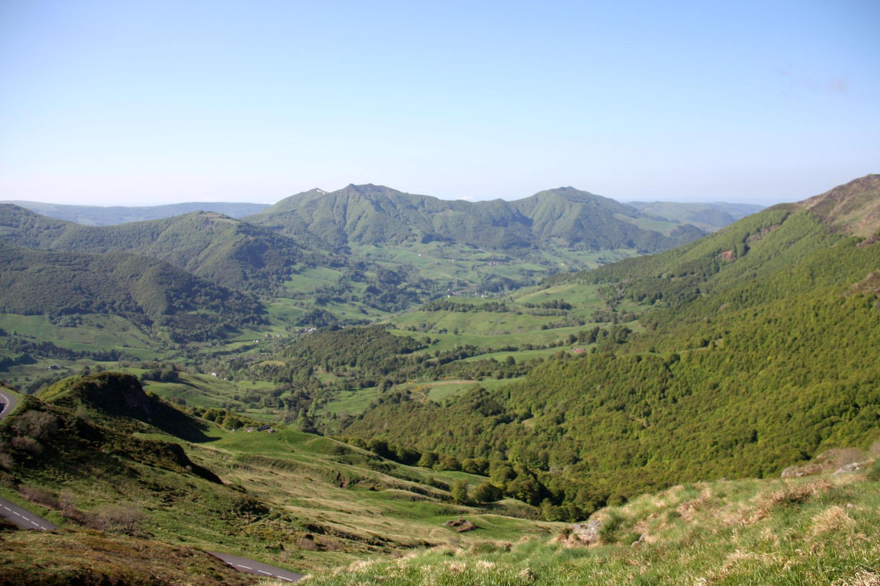 Uitzicht vanaf de Puy Mary