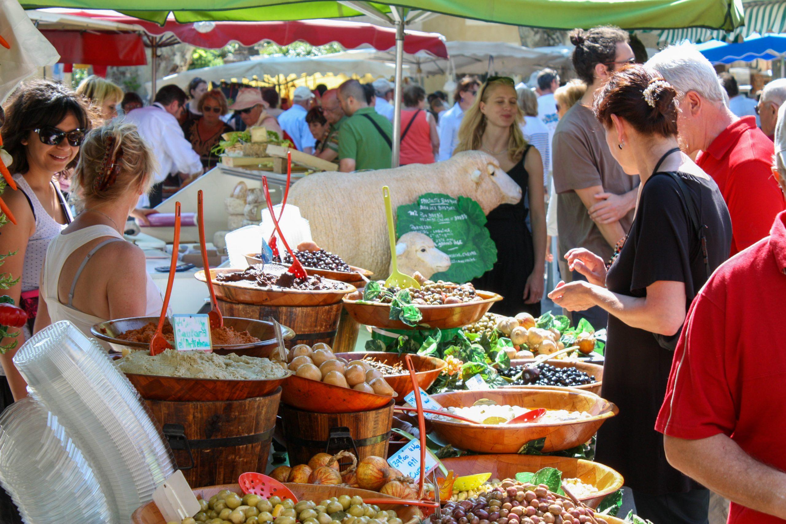 Markt in Bédoin