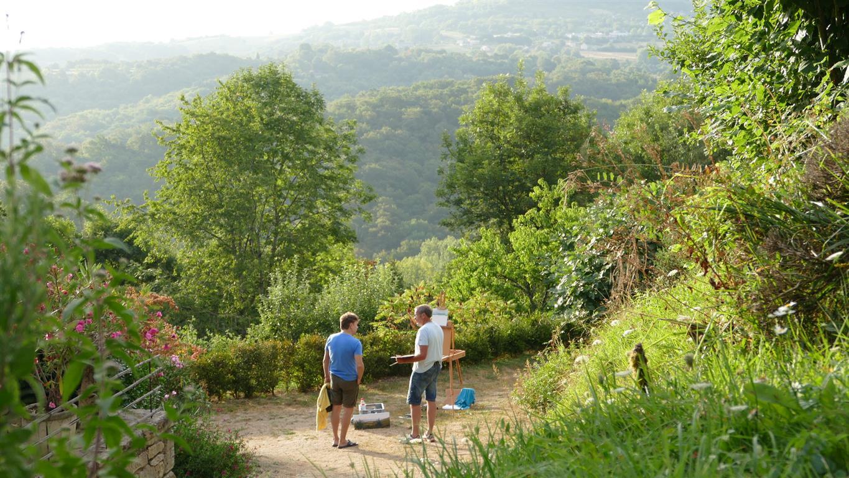 Tot rust komen op camping Hermitage Rochas Couchaud, Corrèze, Limousin, Frankrijk