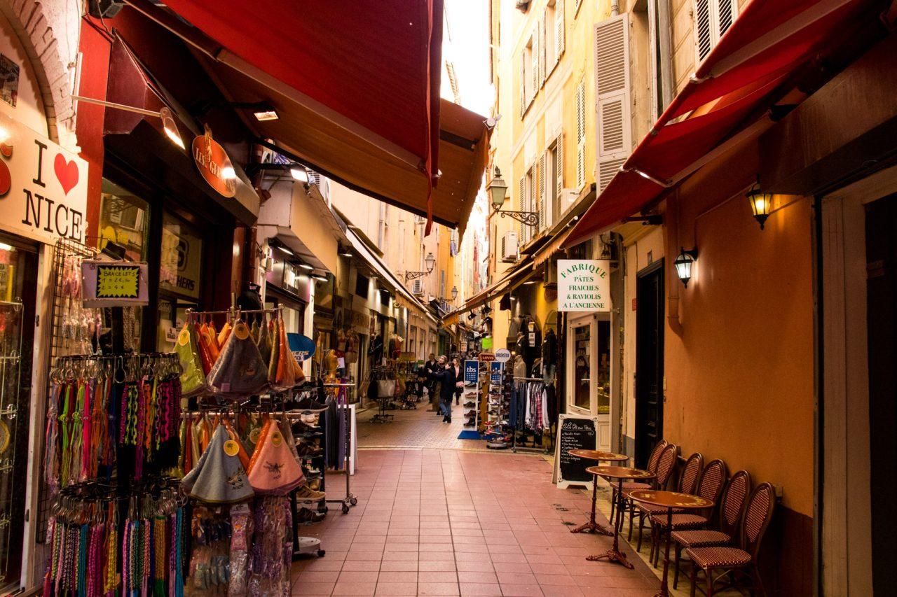 Leuke straatjes in Nice