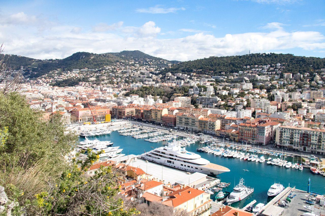 De haven van Nice