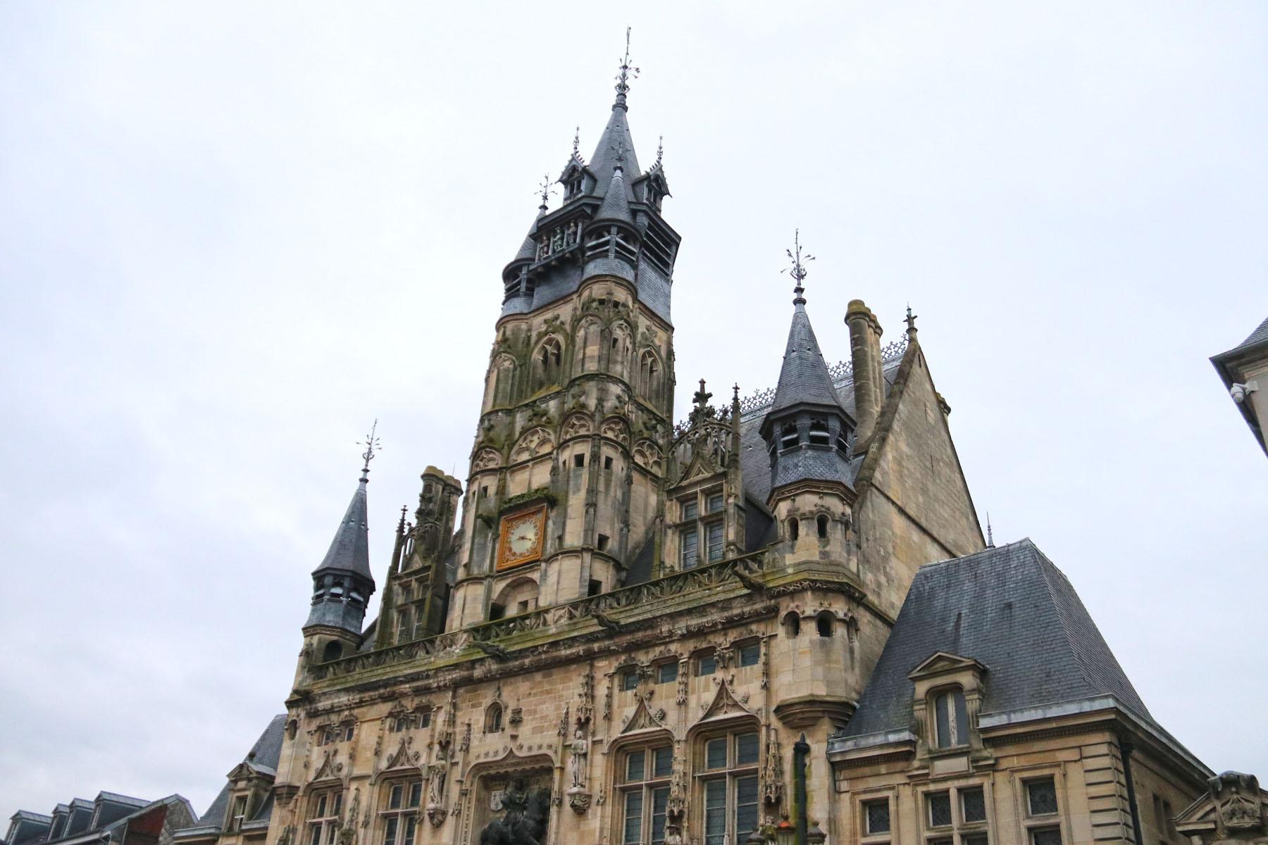 Het stadhuis van Compiègne