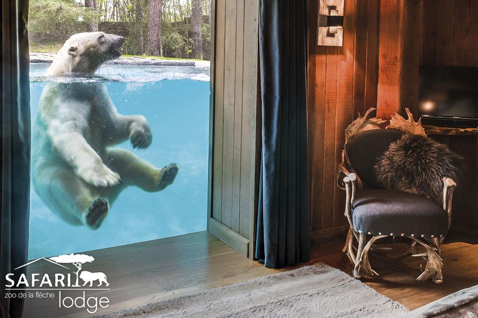Bijzonder overnachten in Frankrijk - dierentuin