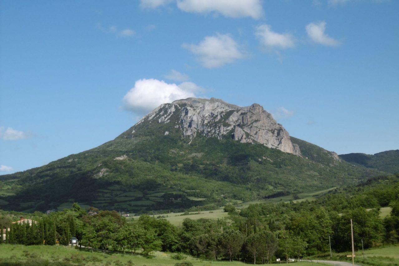 De Pech de Bugarach, het hoogste punt van het land van Couiza.