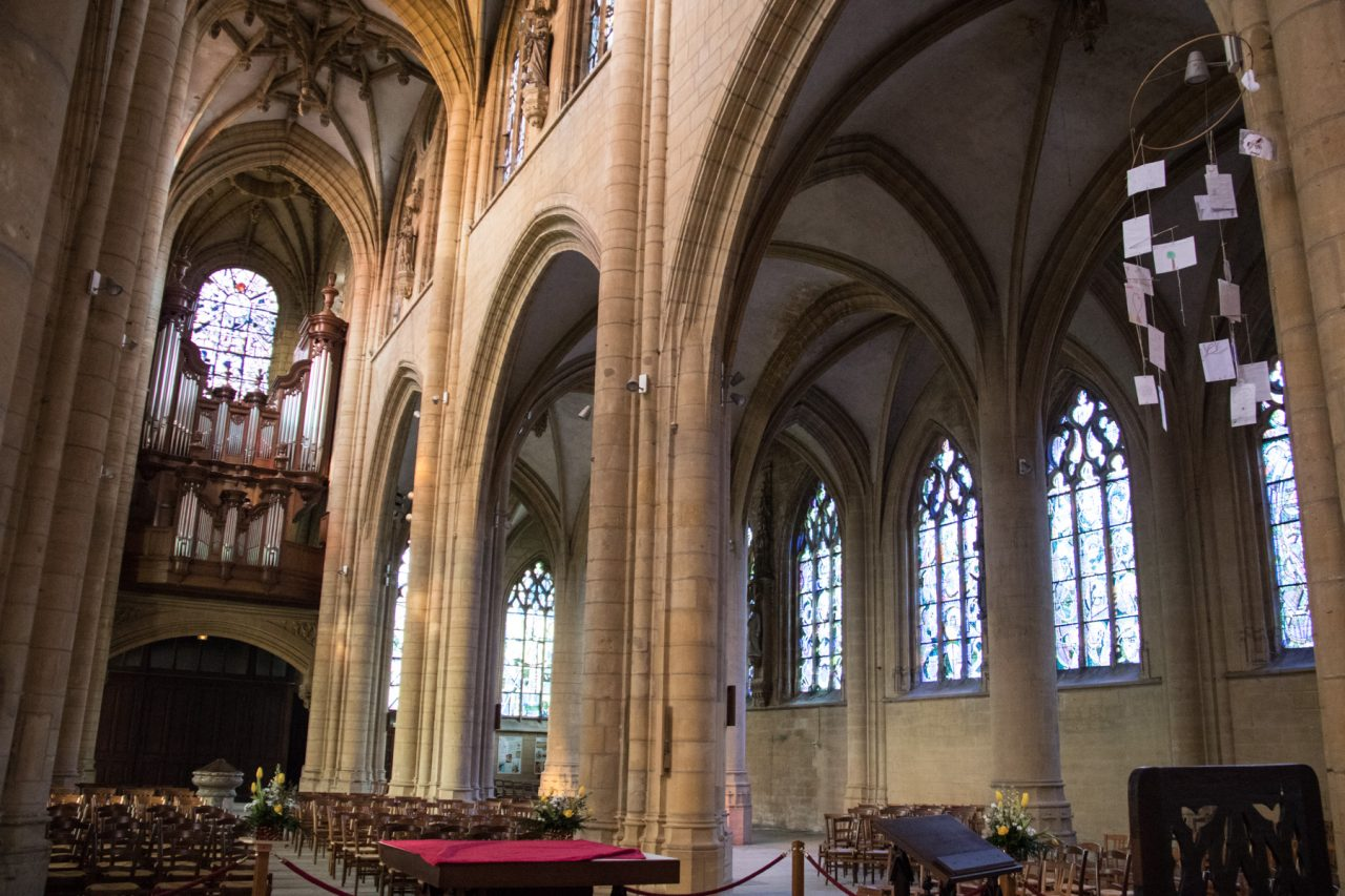 De kerk van Mézières