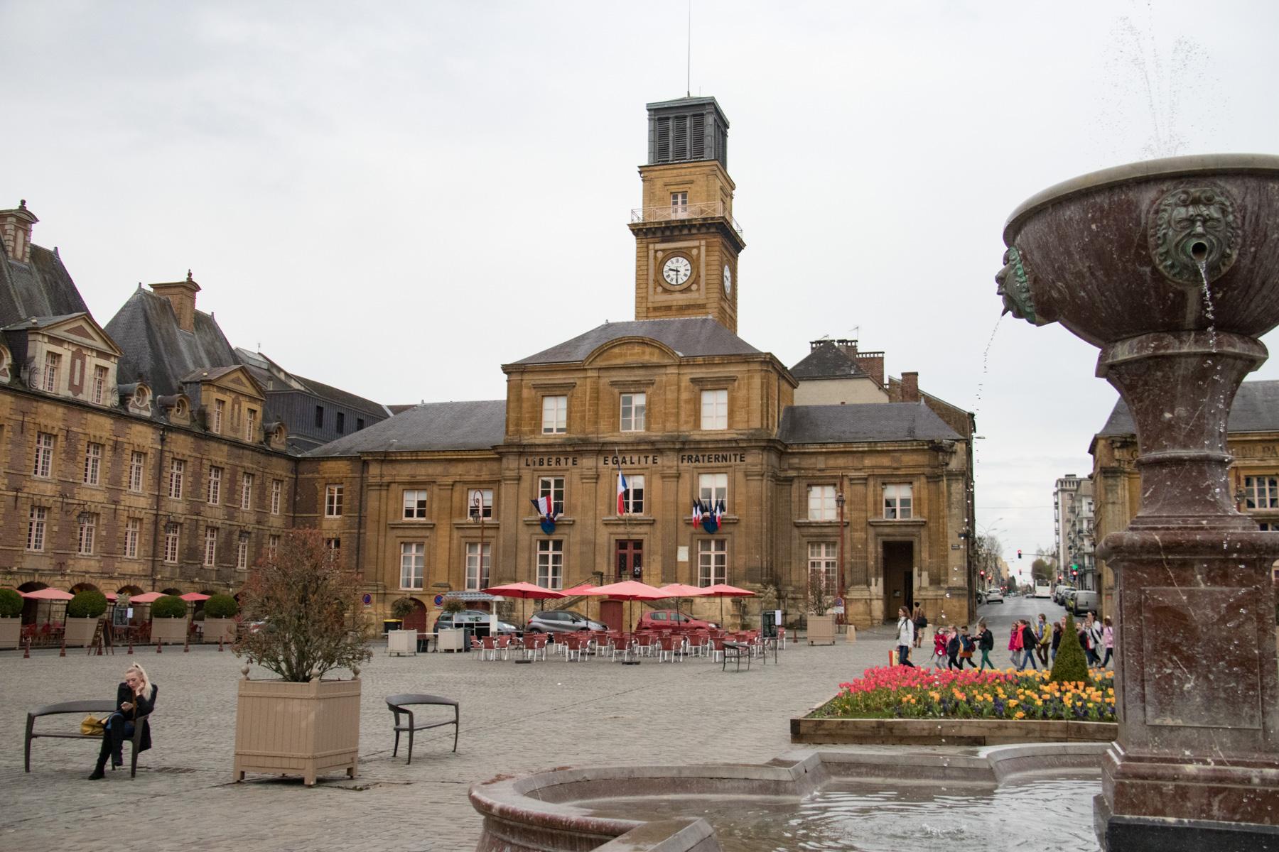 Het stadhuis van Charleville