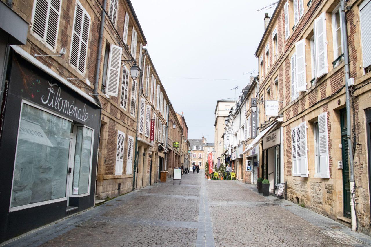 Winkelstraat in Charleville