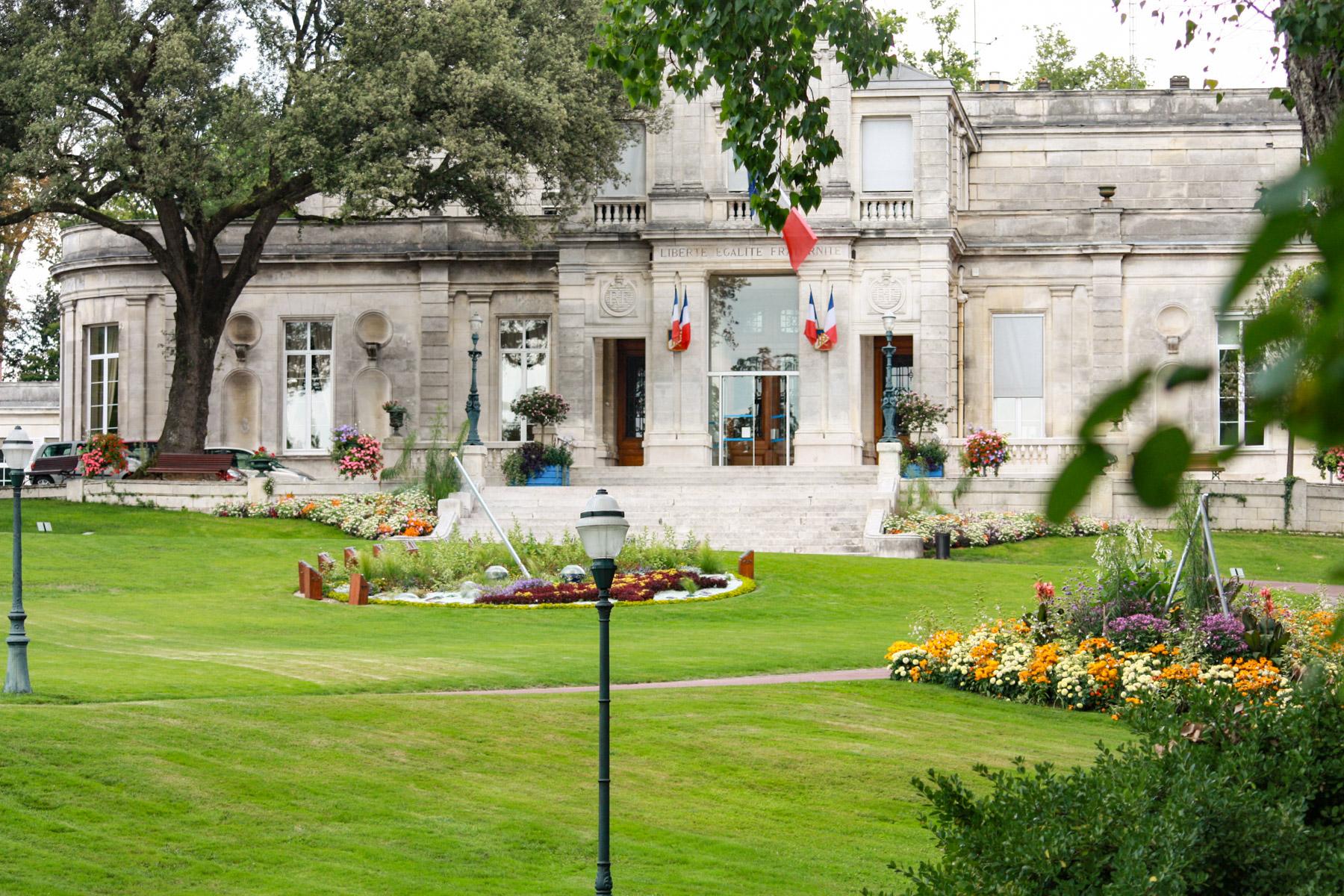 Het park van Cognac.