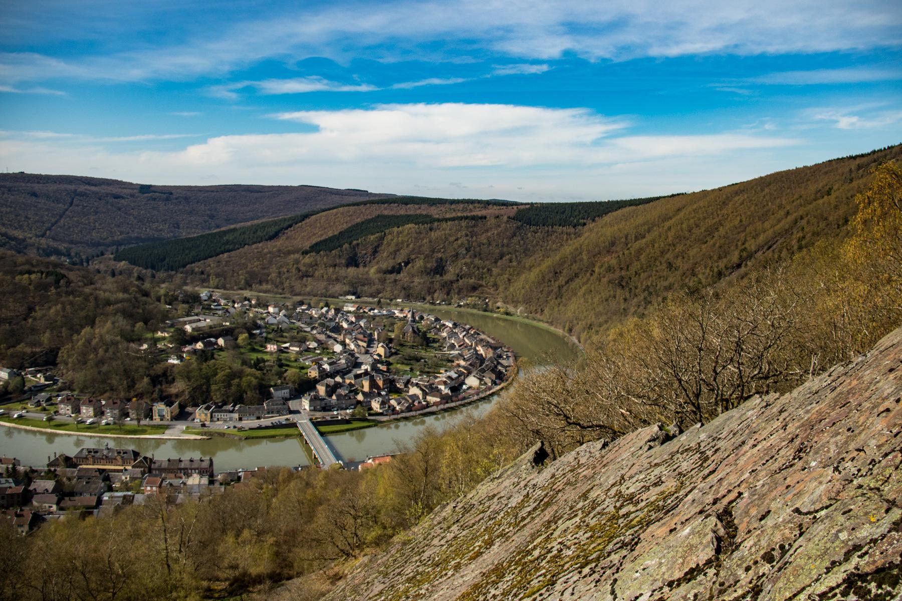 Boucle de la Meuse bij Monthermé.