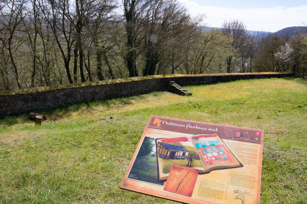 Romeinse overblijfselen op Mont Vireux