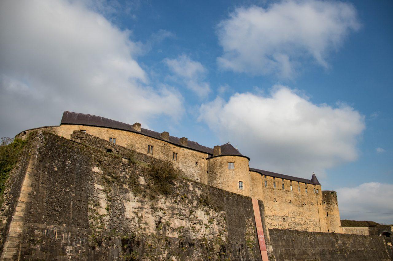 Het kasteel van Sedan.