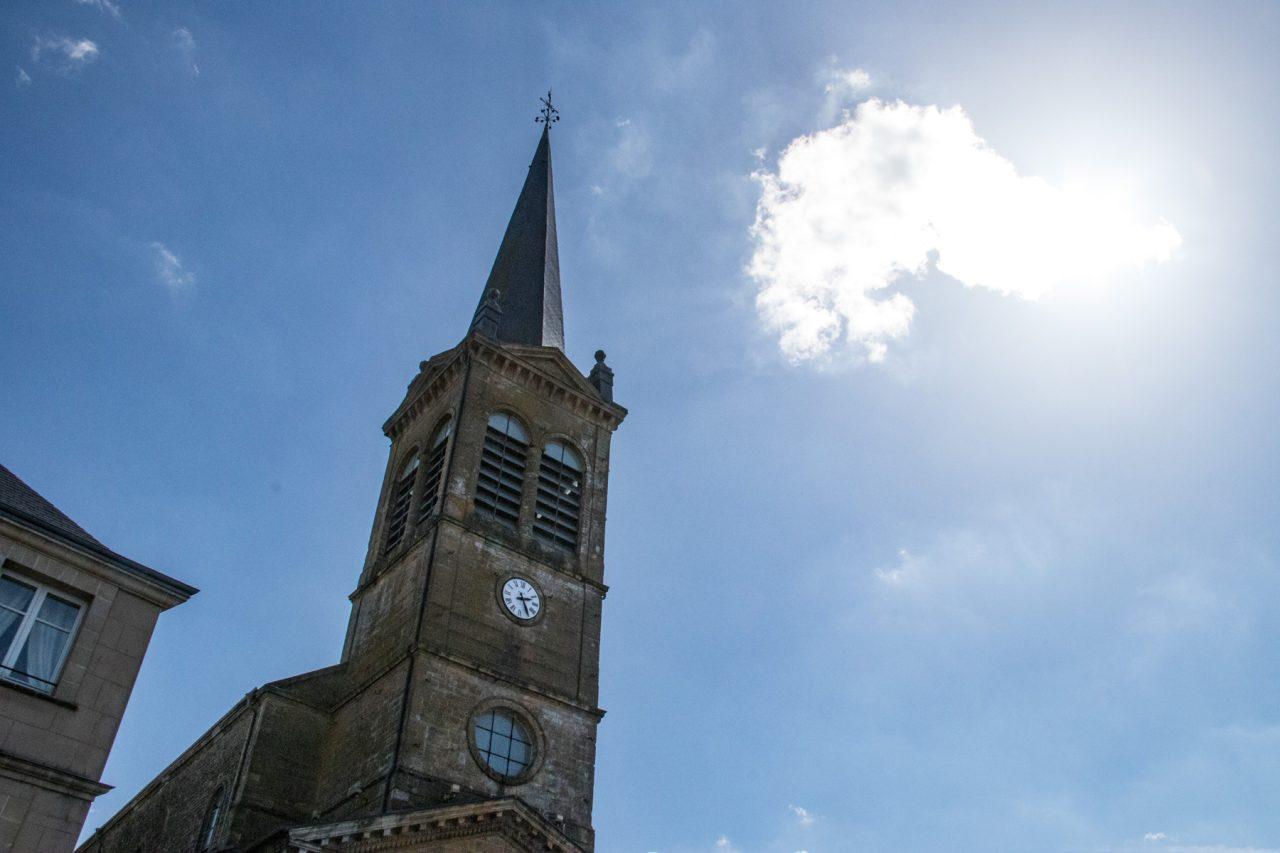 De kerk van Rocroi