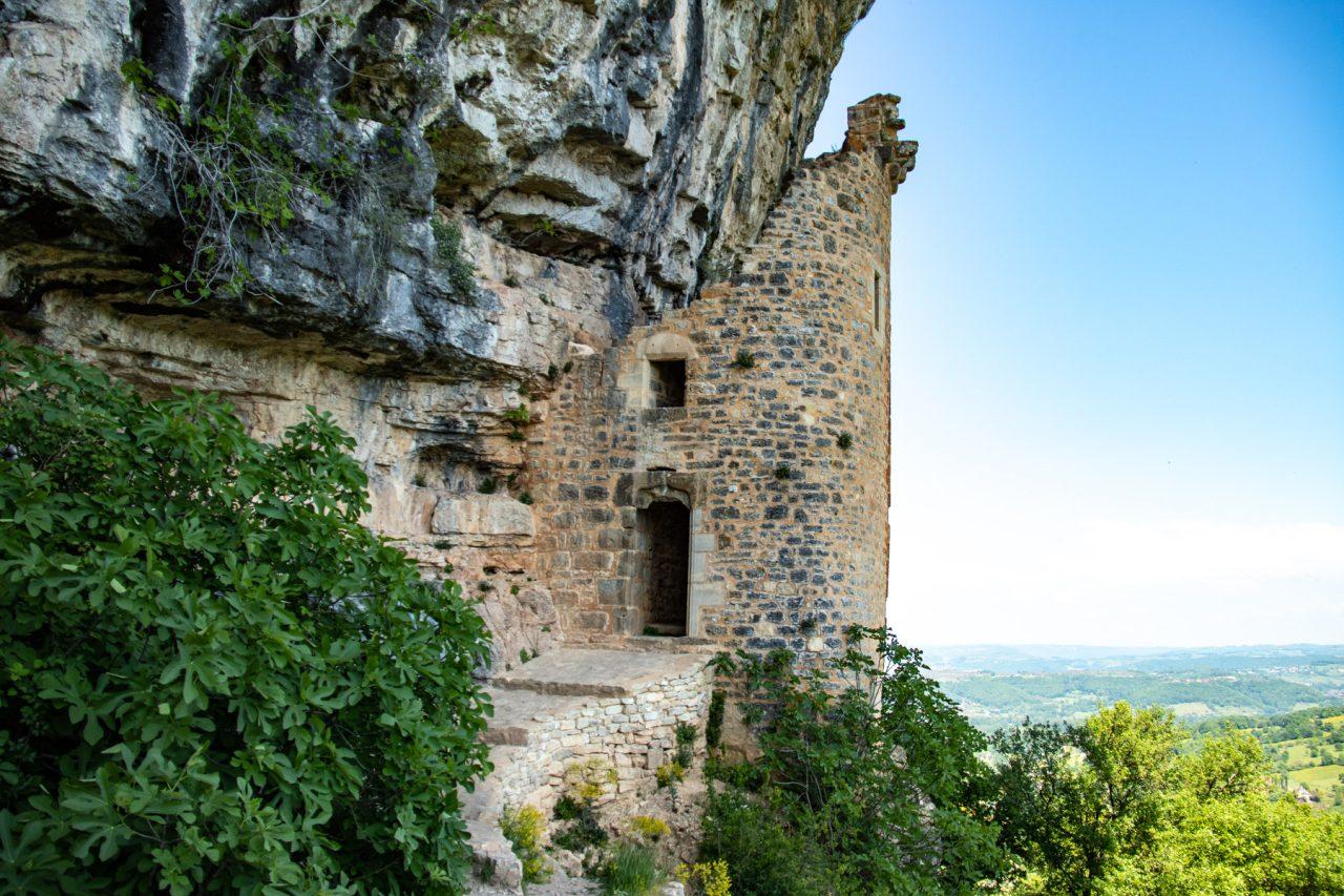 Het kasteel van Autoire, het château des Anglais