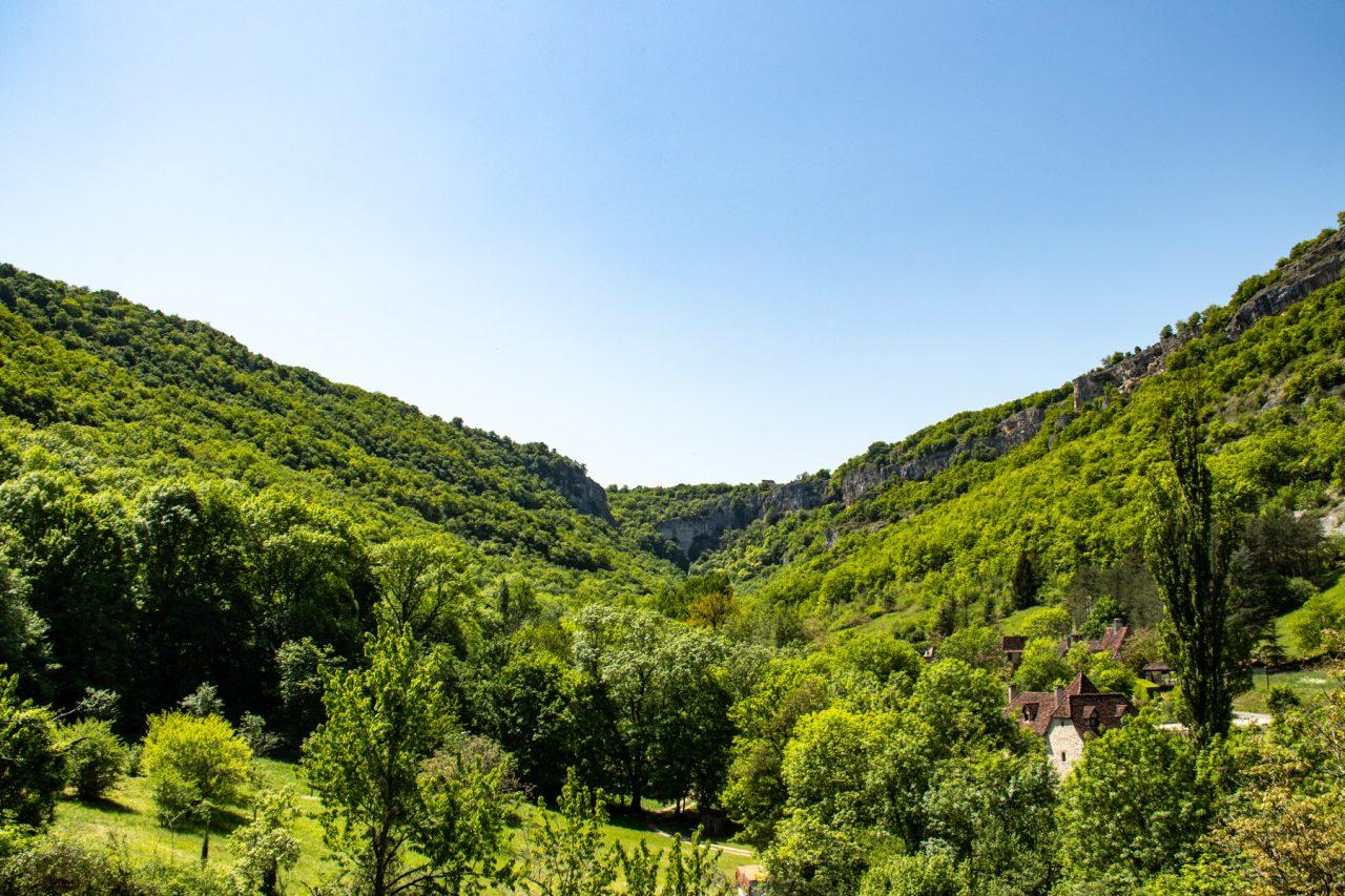 Het groene dal van Autoire