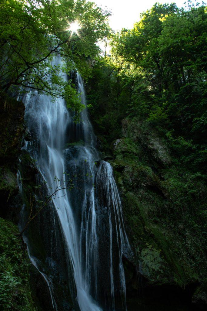 De waterval van Autoire