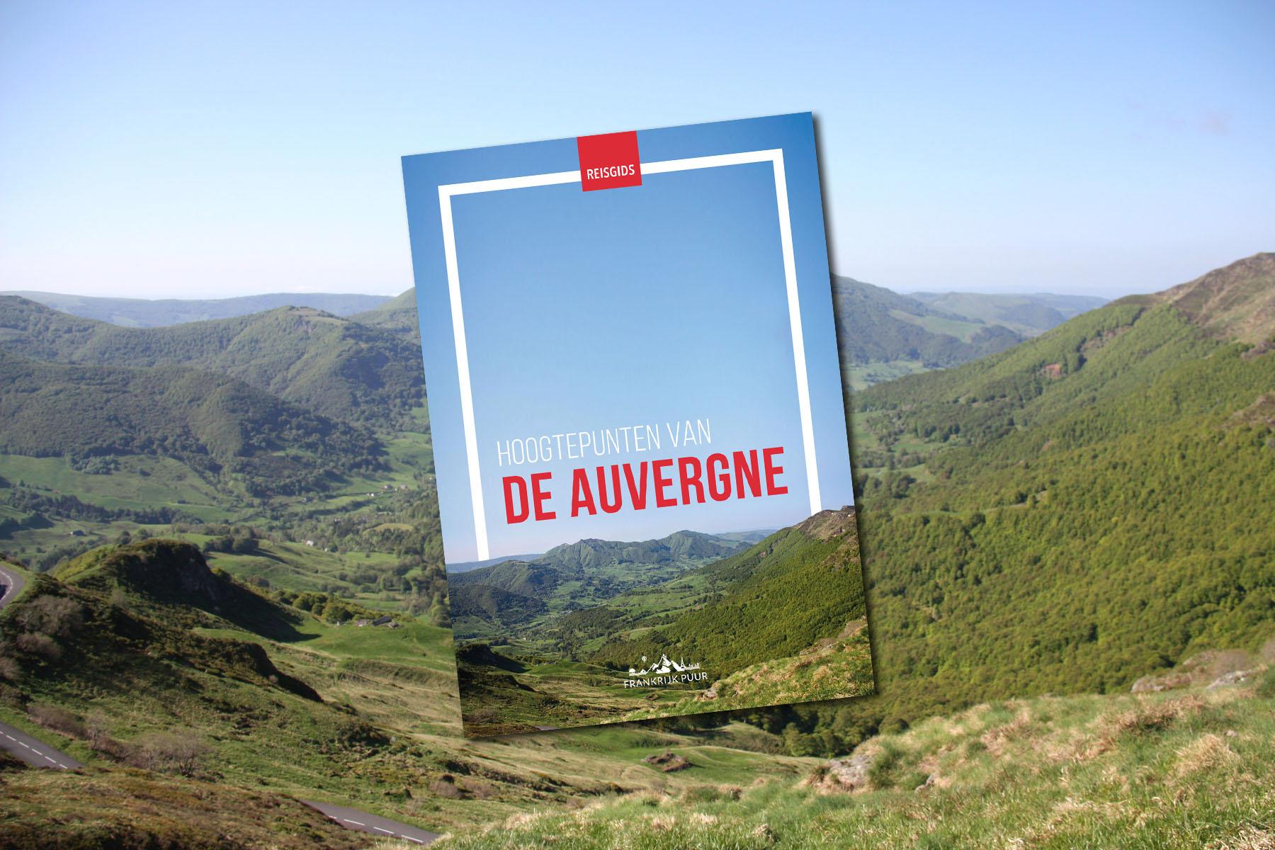Nieuw: Ebook 'Hoogtepunten van de Auvergne'