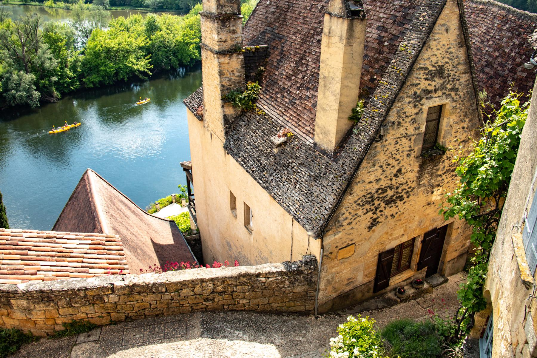 Beynac-et-Cazenac aan de Dordogne