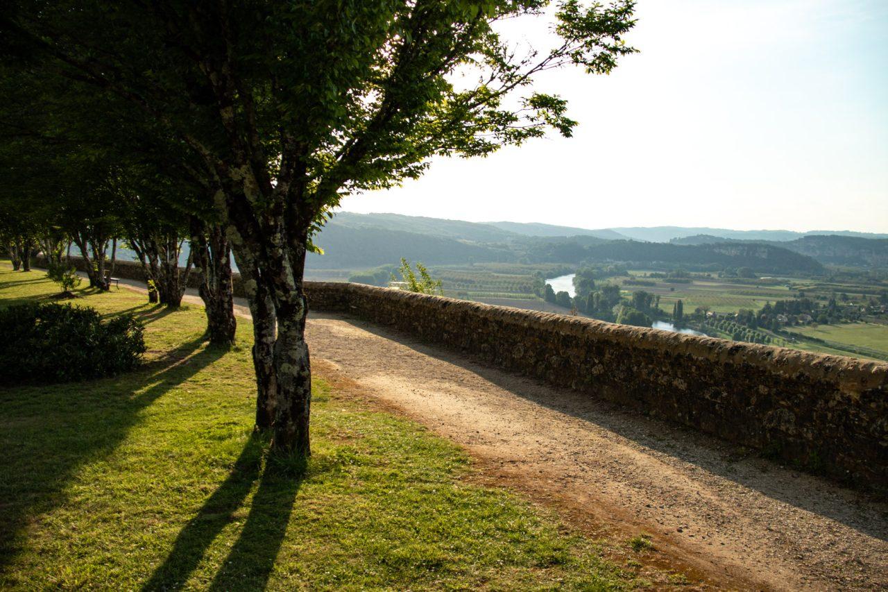 Domme, bastidedorp boven de Dordogne.