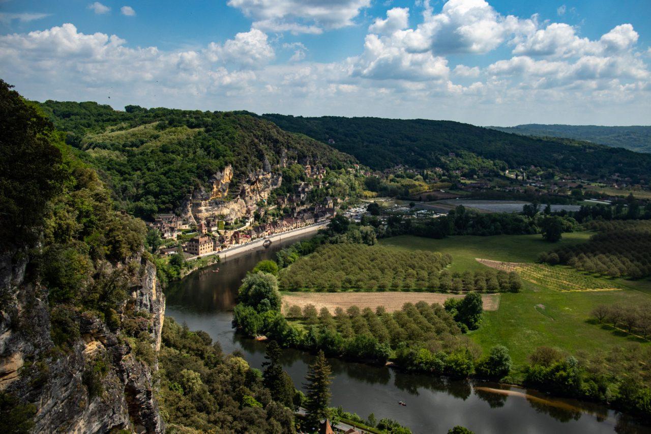 Jardins de Marqueyssac bij de Dordogne