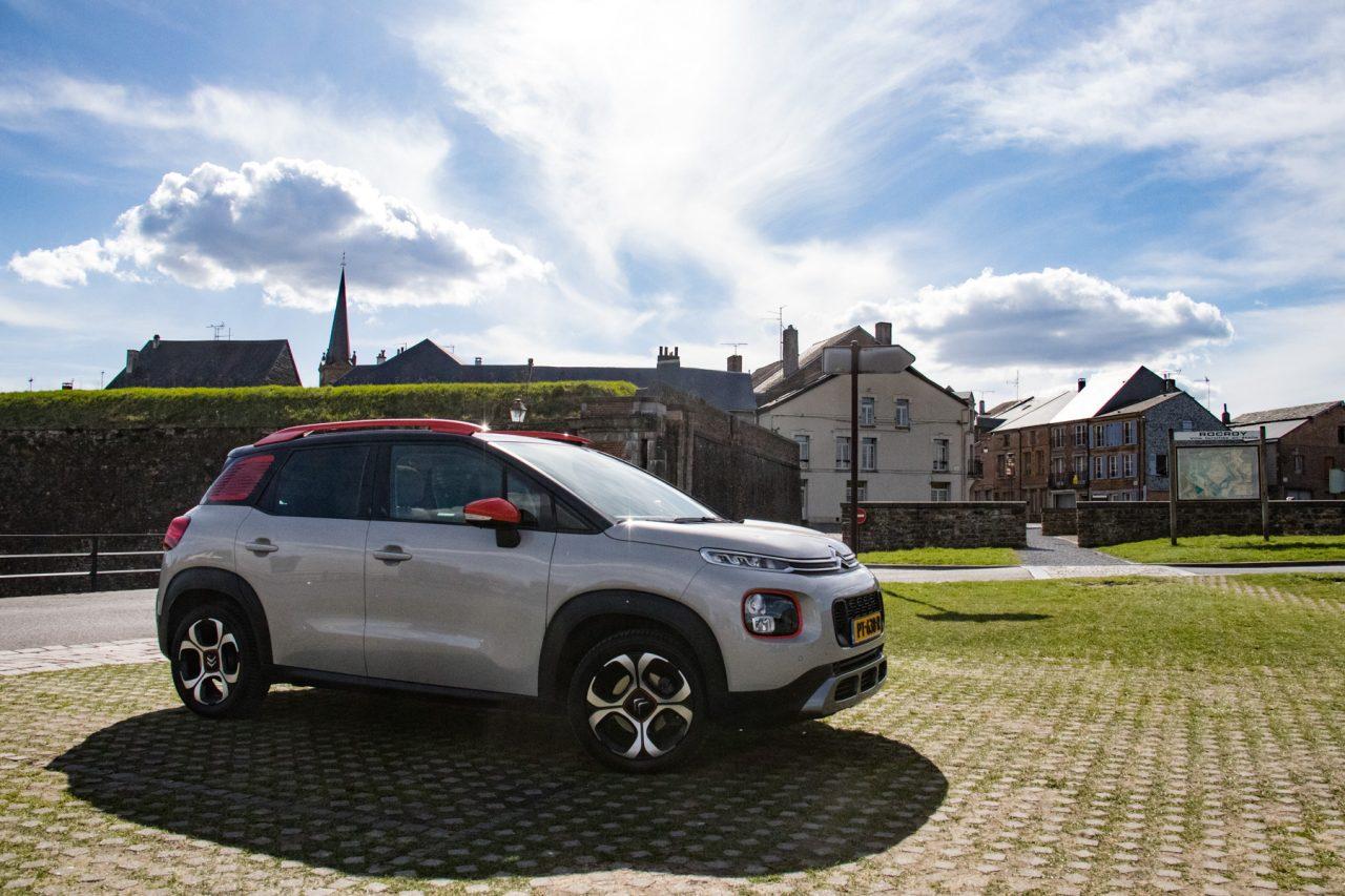 Met de Citroën C3 Aircross in Rocroi