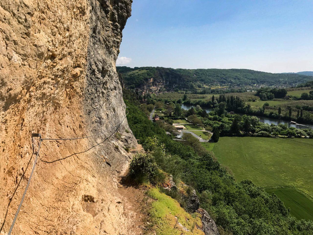 Via Ferrata, Jardins de Marqueyssac, Dordogne