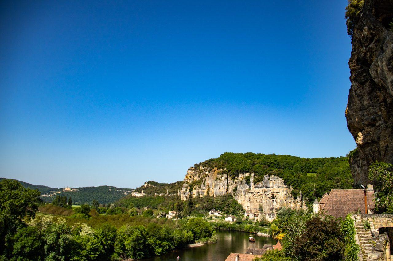 La Roque-Gageac, dorp aan de rivier Dordogne