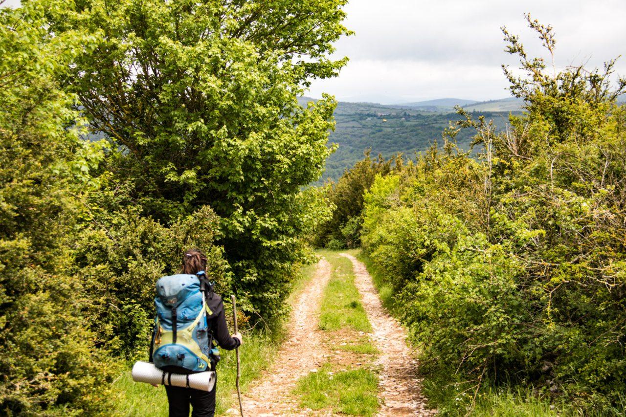 Wandelen op de Causse du Larzac