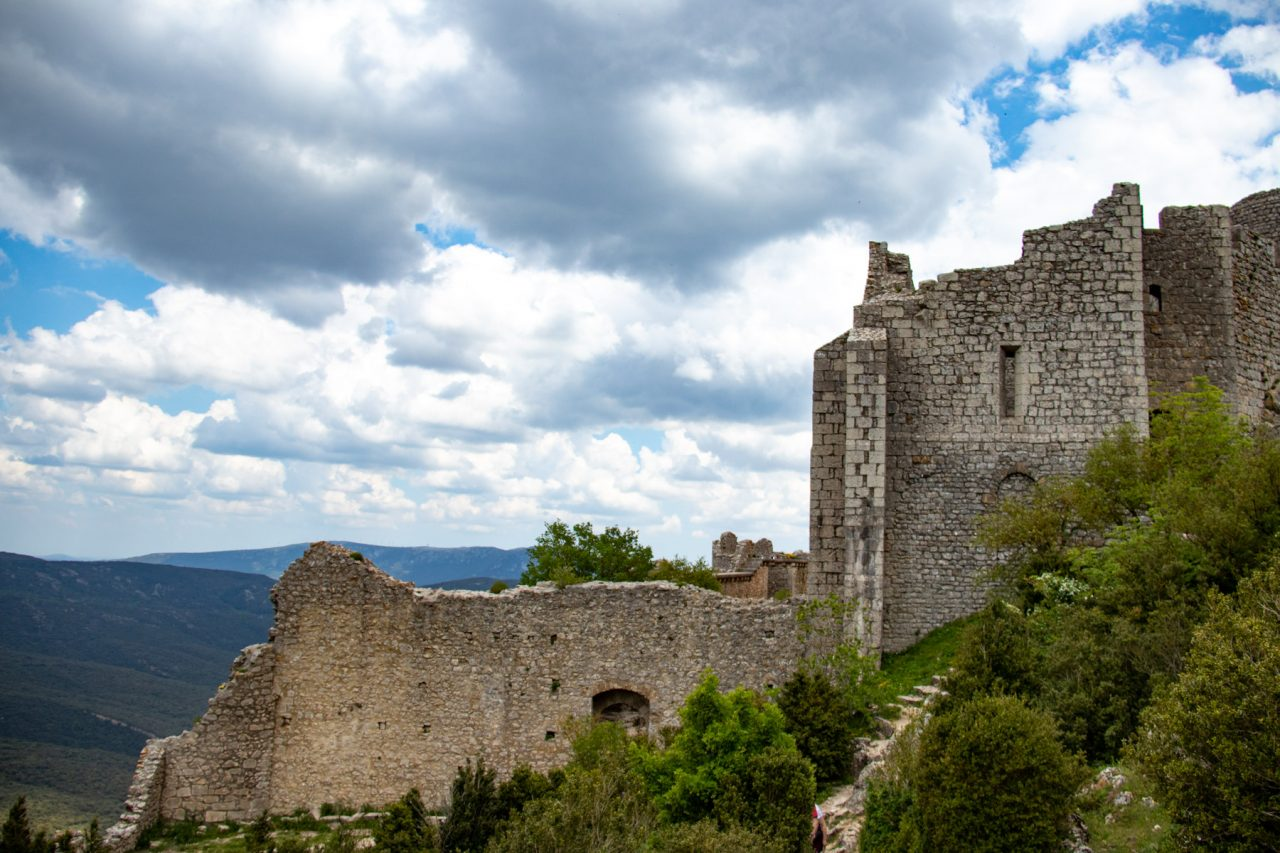 Het Château de Peyrepertuse