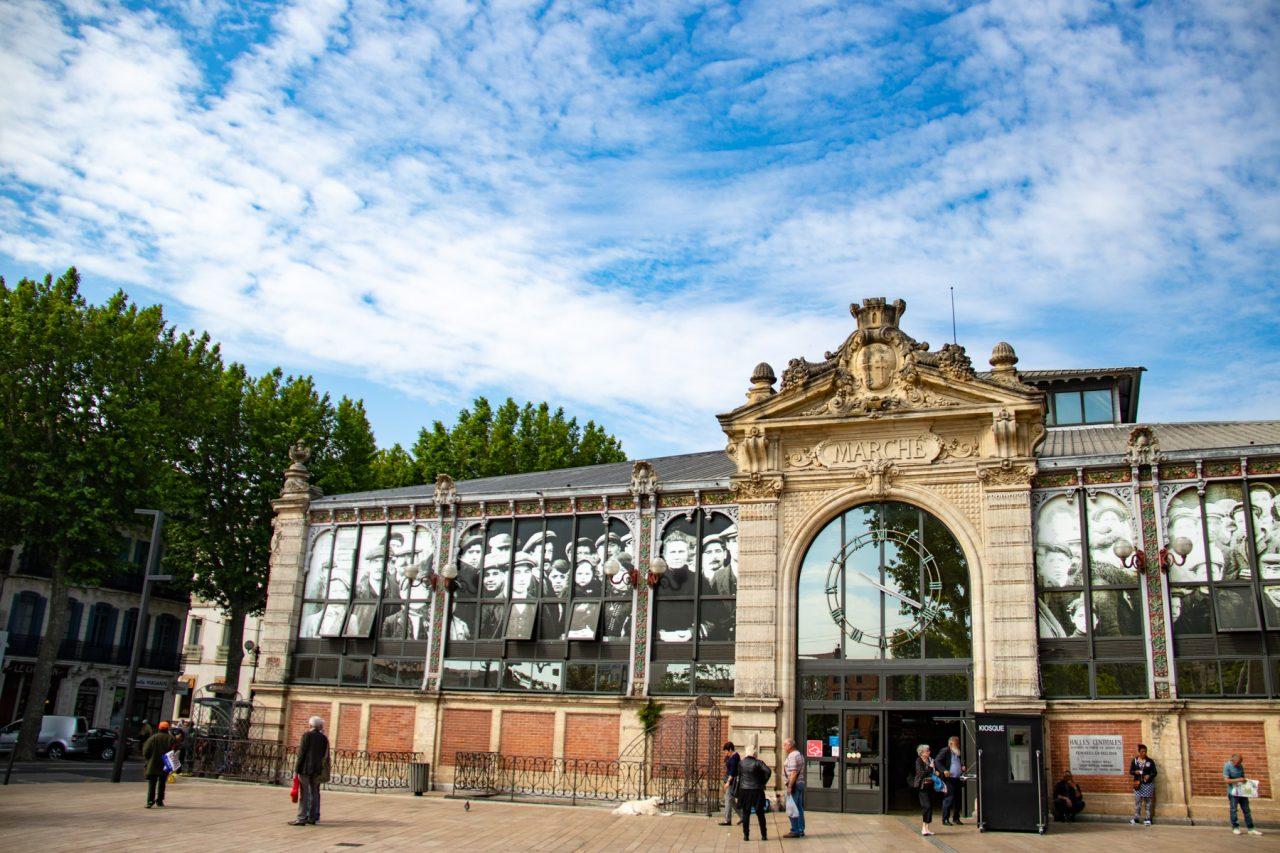 De markthal van Narbonne
