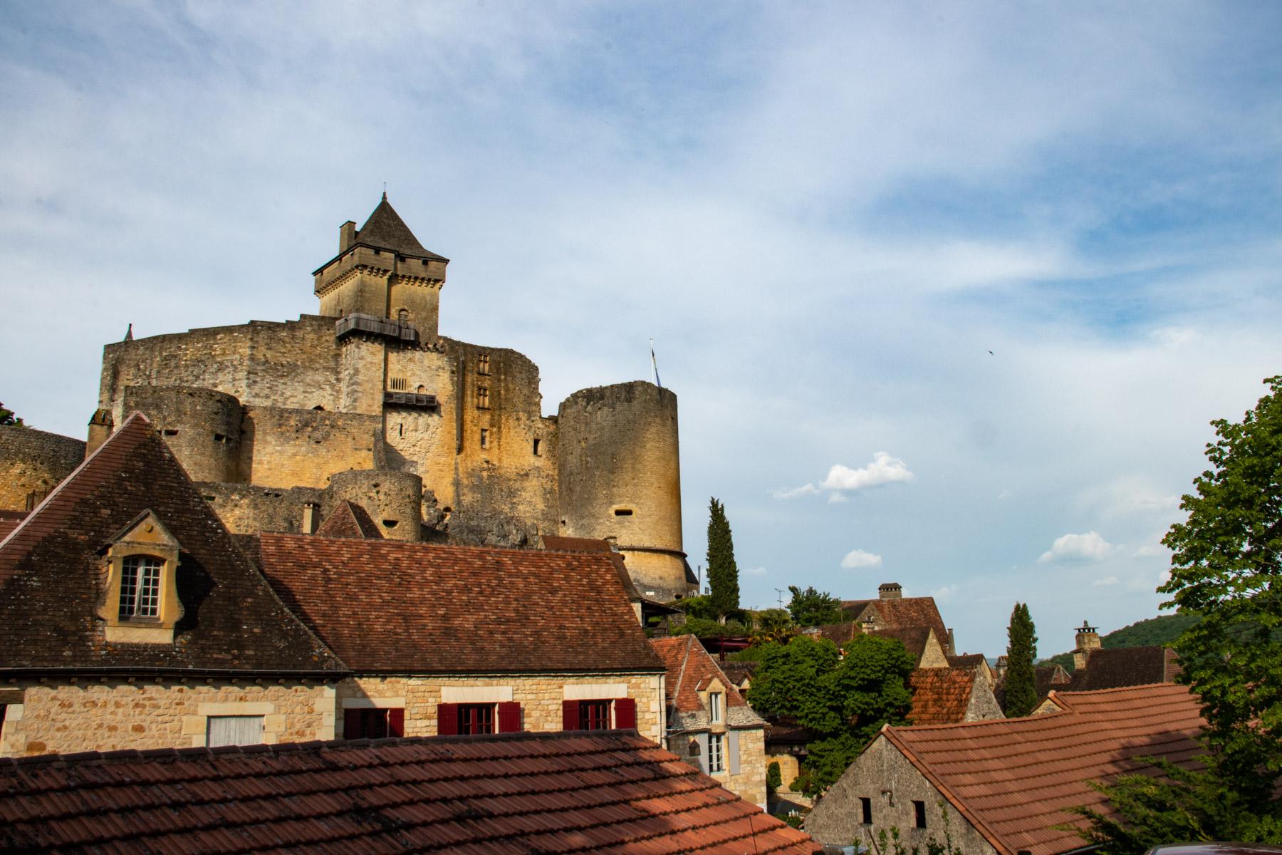 Castelnaud, dorp en kasteel met uitzicht over de Dordognevallei