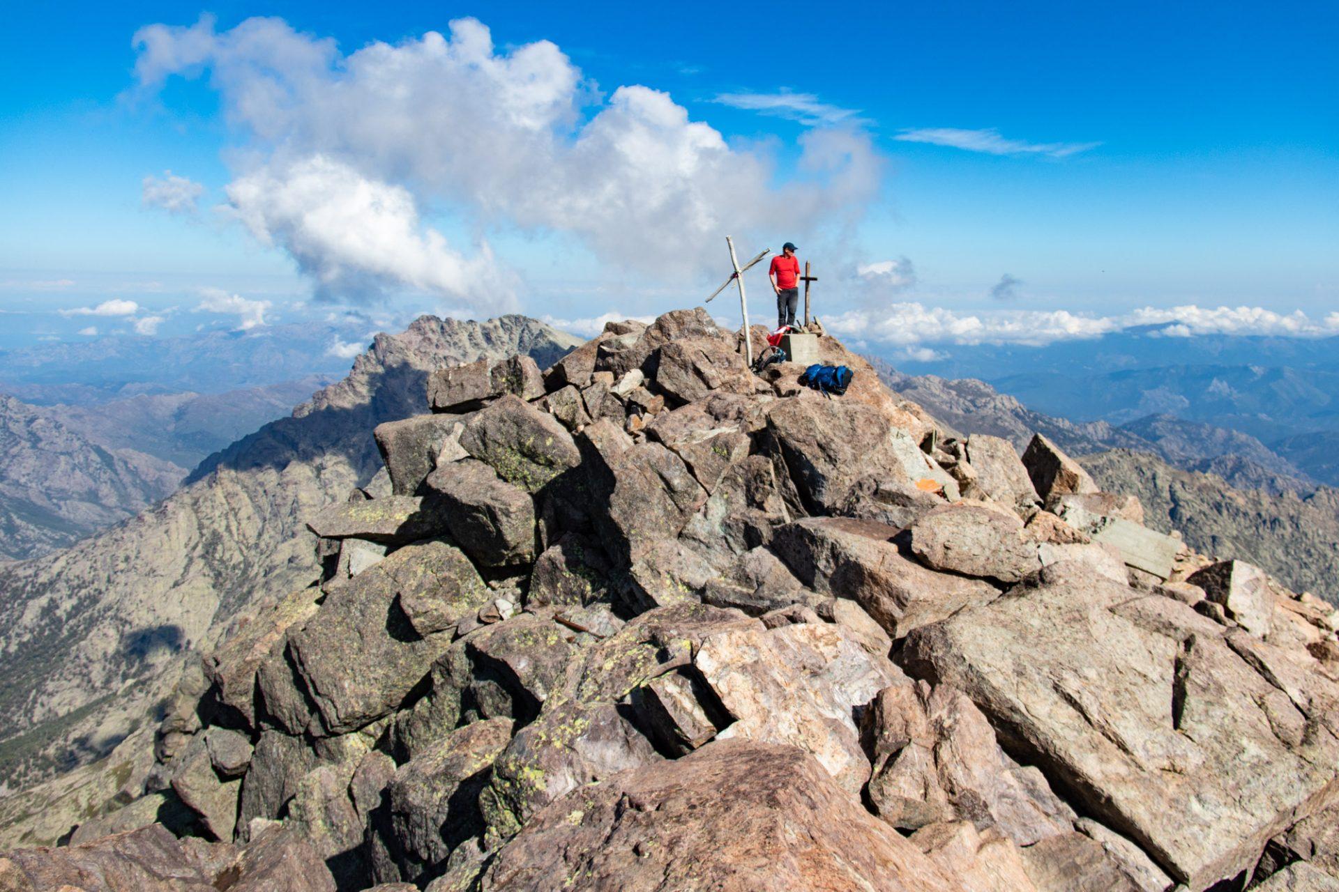 Beklimming van de Monte Cinto