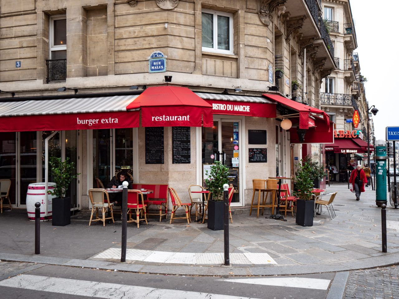Restaurants in Parijs
