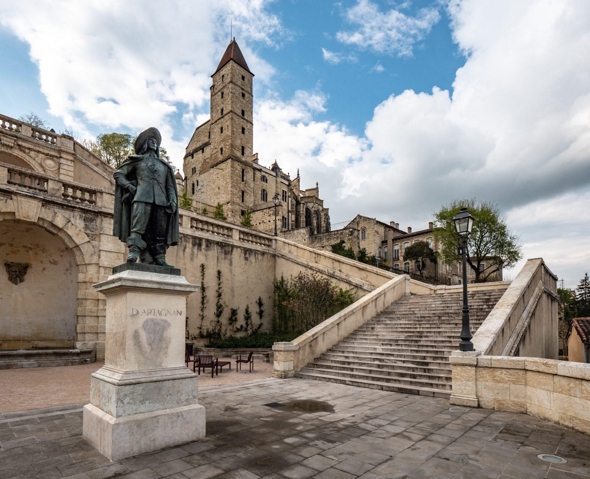 Stadswandeling door Auch, hoofdstad van de Gers