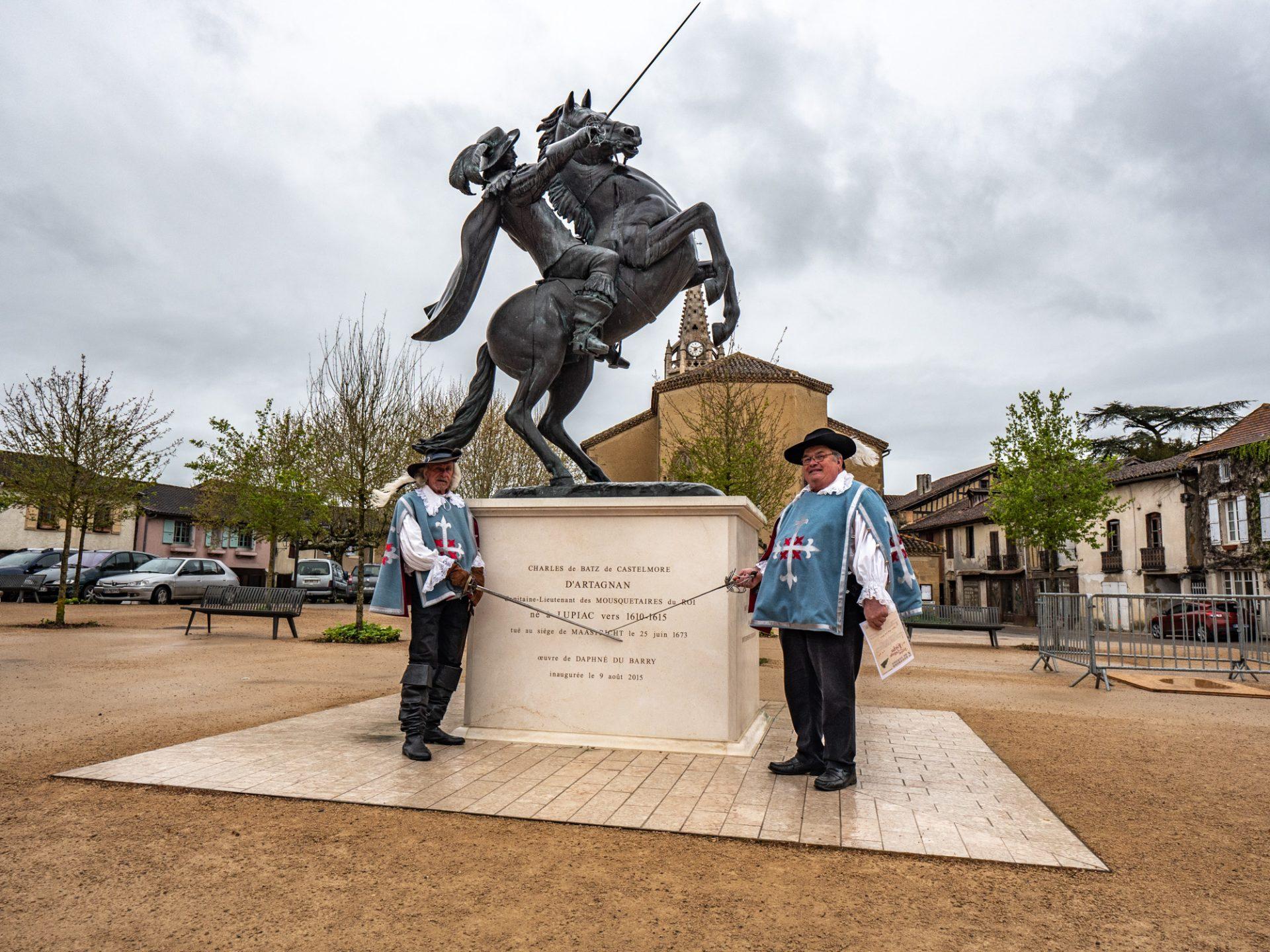 Lupiac, geboortedorp van d'Artagnan
