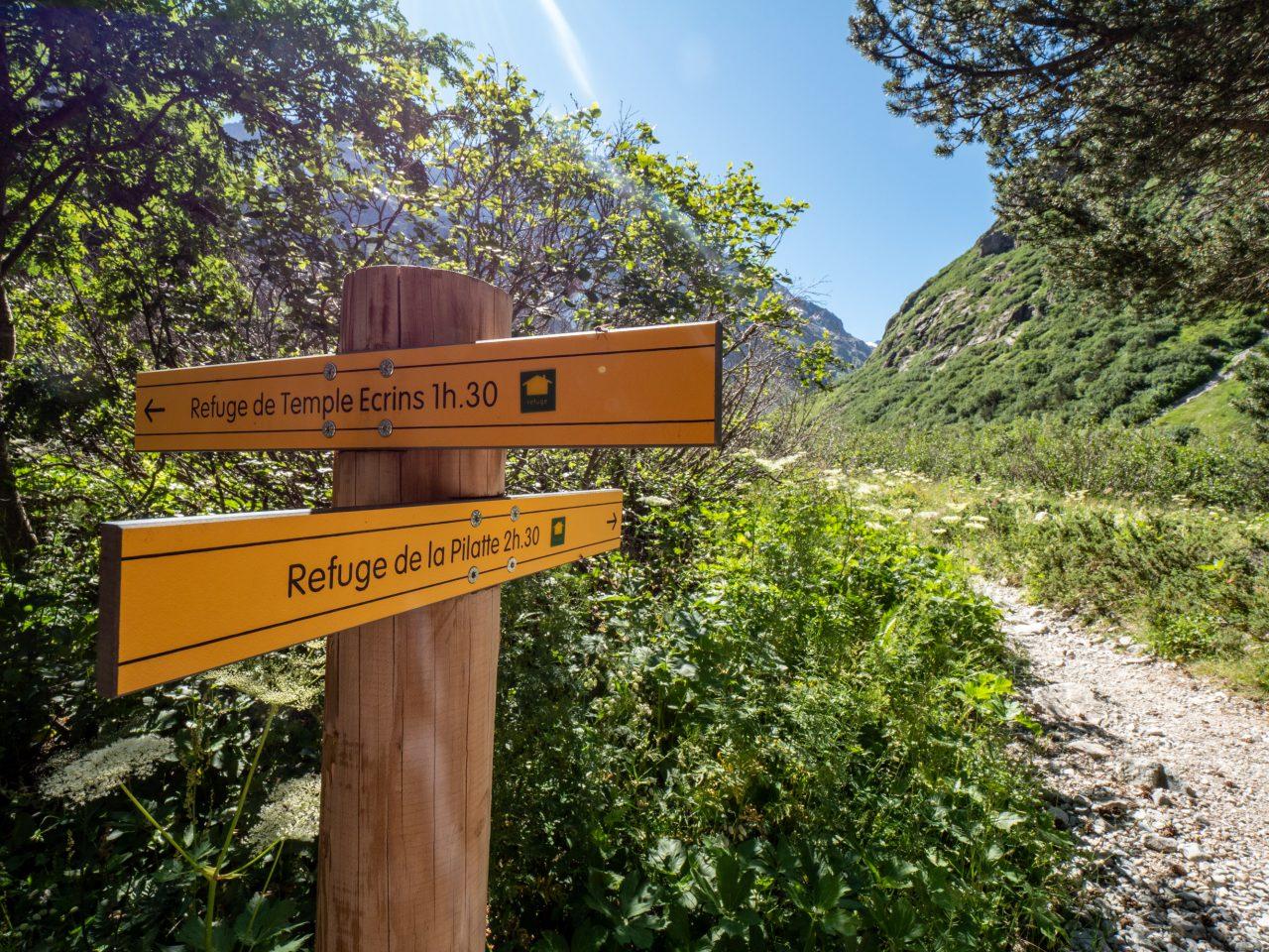 Wandeling naar Refuge de la Pilatte