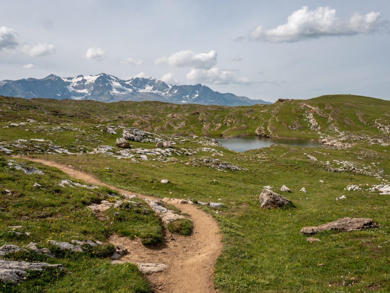 Wandelen op plateau d'Emparis